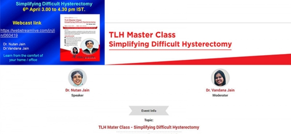 (Webinar) TLH Master Class on 6th April, 2019